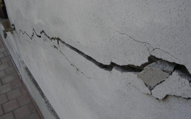 grieta en un muro